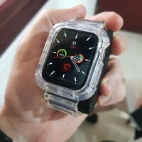 Used Transparent Strap 44mm Apple TWO in Dubai, UAE