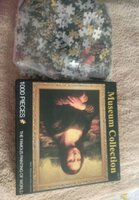 Used Famous painting puzzle1000 pieces new in Dubai, UAE