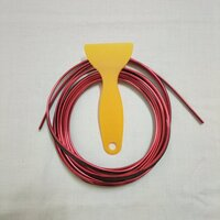 Used Car Trim Strip Plating Red in Dubai, UAE