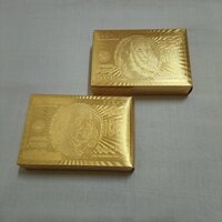 Used Luxury 24K Gold Playing Cards in Dubai, UAE