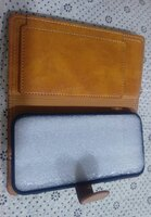 Used Leather wallet phone case size=70/140mm in Dubai, UAE