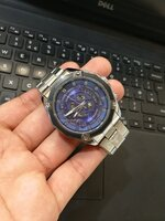 Used Forsining watch silver in Dubai, UAE