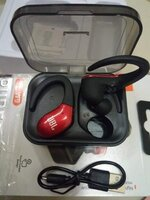 Used St w9 bluthooth earphones.. stereo wirel in Dubai, UAE