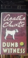 Used Agatha Christie - Dumb Witness in Dubai, UAE