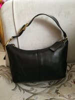 Used AUTHENTIC COACH PURE LEATHER BAG.. in Dubai, UAE
