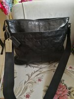 Used AUTHENTIC COACH PURE LEATHER BAG FOR MEN in Dubai, UAE