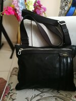 Used AUTHENTIC BALLY PURE LEATHER BAG FOR MEN in Dubai, UAE