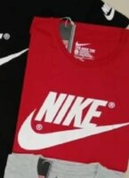 Used Nike tshirt Promo Red@1pc in Dubai, UAE