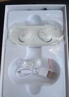 Used BUY NOW WHITE TWS 4 EARBUDS PACKED ✔️✔️✔ in Dubai, UAE