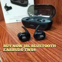 Used JBL TWS 4 EARBUDS PACKED ✔️✔️✔️✔️ 🌟 in Dubai, UAE