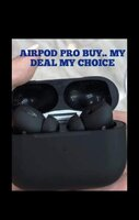 Used BLACK AIRPODS PRO WITH APPLE LOGO NEW✅ in Dubai, UAE