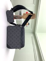 Used LV men trio messenger bag in Dubai, UAE