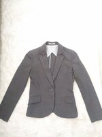 Used Grey suit with complimentary blouse in Dubai, UAE