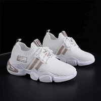 Used Ladies sneakers, white,size 40 and 41 in Dubai, UAE