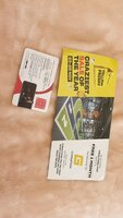 Used 2 vouchers for sell in Dubai, UAE