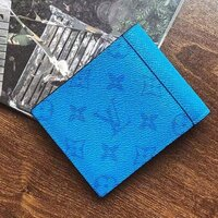 Used LV blue wallet in Dubai, UAE