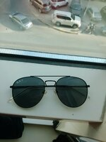 Used Rayban polarized with case in Dubai, UAE