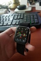 Used APPLE smart watch series 6 Crown BLACK in Dubai, UAE