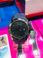 Used Mens watch. Thick Rubber strap in Dubai, UAE