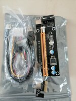 Used PCI 1x to 16x with cables (5 pieces ) in Dubai, UAE