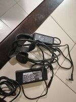 Used HP laptop charger 2 nos in Dubai, UAE