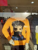 Used T.shirt sizeM.L.XL Color orange in Dubai, UAE