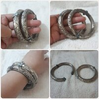 "Used Antique 2 pcs bracelet bronze "" very rar in Dubai, UAE"