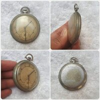 "Used Antique old pocket watch "" swiss made in Dubai, UAE"