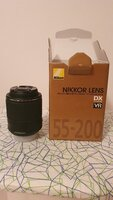 Used Nikon Nikor Lens AF-S DX 55-200mm f4-5.6 in Dubai, UAE