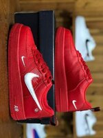 Used Nike airforce, red, size 43 in Dubai, UAE