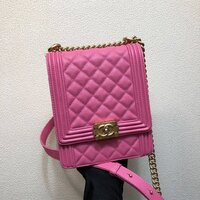 Used Chanel cute pink bag in Dubai, UAE