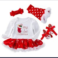 Used My First Christmas Baby Girl Tutu Outfit in Dubai, UAE