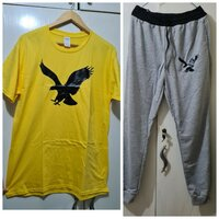 Used Brand new yellow eagle track suit size L in Dubai, UAE