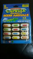 Used Growing Capsule Animals Ocean Animals in Dubai, UAE