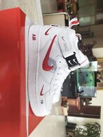 Used Nike airforce  high cut,size 40 in Dubai, UAE