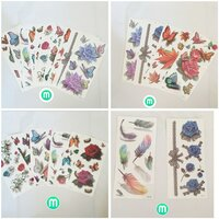 Used 3D Tattoo Sticker for Body 20 pieces in Dubai, UAE