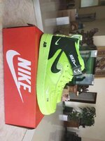 Used Nike high cut shoe,green,size 43 in Dubai, UAE