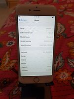 Used IPhone 6 Sim Card Not Working in Dubai, UAE