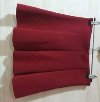 Used Red skirt size M in Dubai, UAE