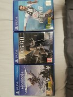 Used 3 (Three) PS4 Games Original in Dubai, UAE