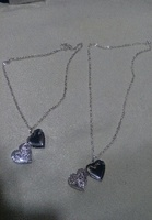 Used DIY photo necklace 1+1 free brand new in Dubai, UAE
