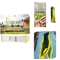Used Four-Sided Cross Volleyball Net in Dubai, UAE