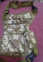 Used X waist leg bag jungle design brand new in Dubai, UAE