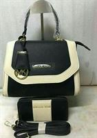 Michael Kors Bag With Wallet Black And White