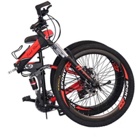 Used 21-Speed X9 Folding Mountain Bike 26inch in Dubai, UAE