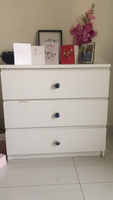 Used Chest of drawers with floral details  in Dubai, UAE