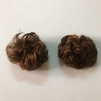 Used Hair bun elastic donut hair (new) 2pcs  in Dubai, UAE