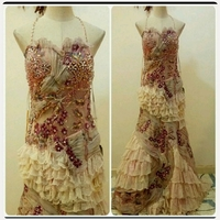 Used Very Elegant Long Dress for Party Wear in Dubai, UAE