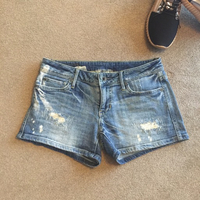 Denim shorts converse