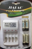 Used Battery Charger with 4 pcs of AA in Dubai, UAE